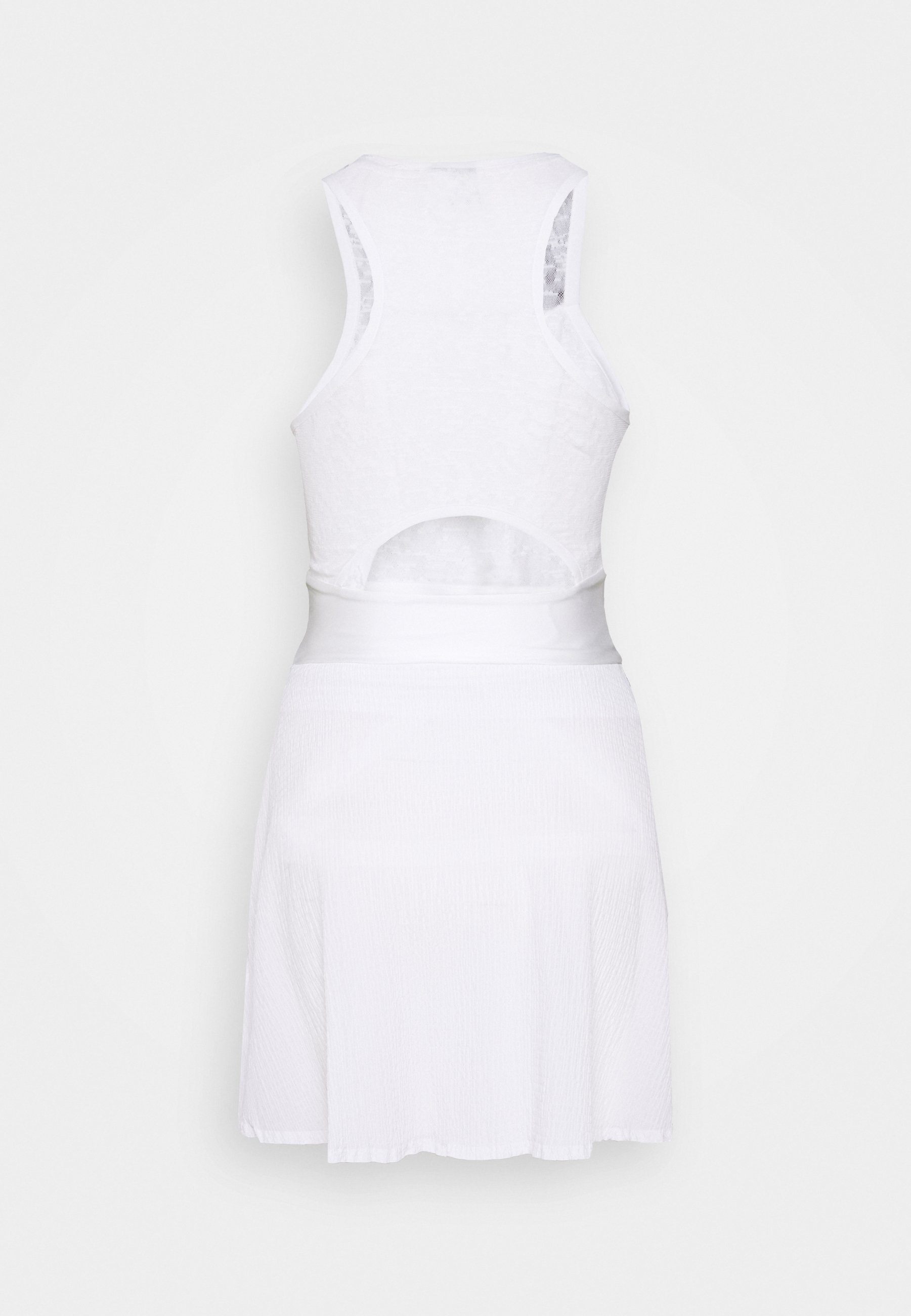 MARIA DRESS Robe de sport whiteblack