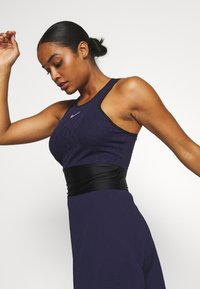 Nike Performance - MARIA DRESS - Sports dress - blackened blue/black/stone mauve - 3