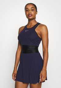 Nike Performance - MARIA DRESS - Sports dress - blackened blue/black/stone mauve - 0