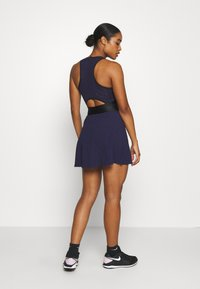 Nike Performance - MARIA DRESS - Sports dress - blackened blue/black/stone mauve - 2