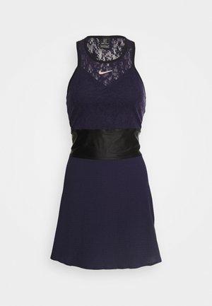 MARIA DRESS - Sportovní šaty - blackened blue/black/stone mauve