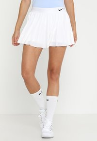 Nike Performance - VICTORY SKIRT - Sportkjol - white/black - 0