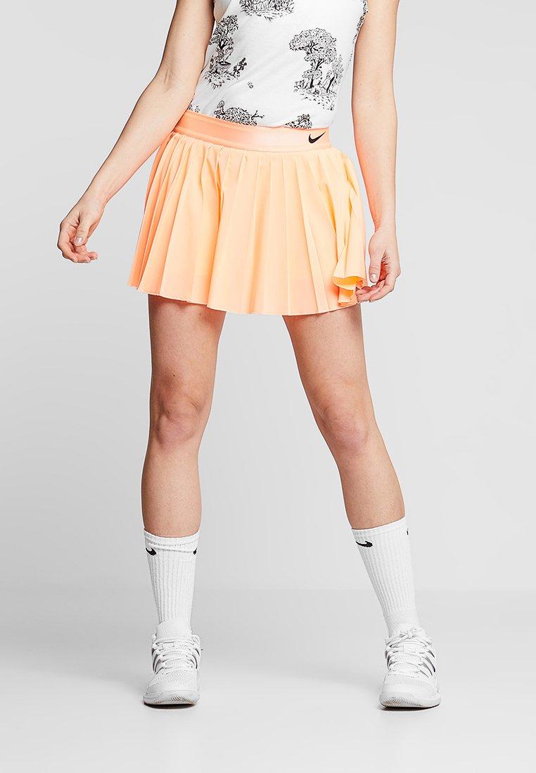 Nike Performance - VICTORY SKIRT - Sports skirt - orange pulse/black