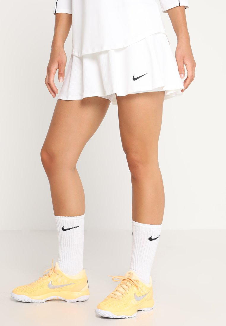 Nike Performance - FLOUNCY SKIRT - Sportsnederdel - white/black