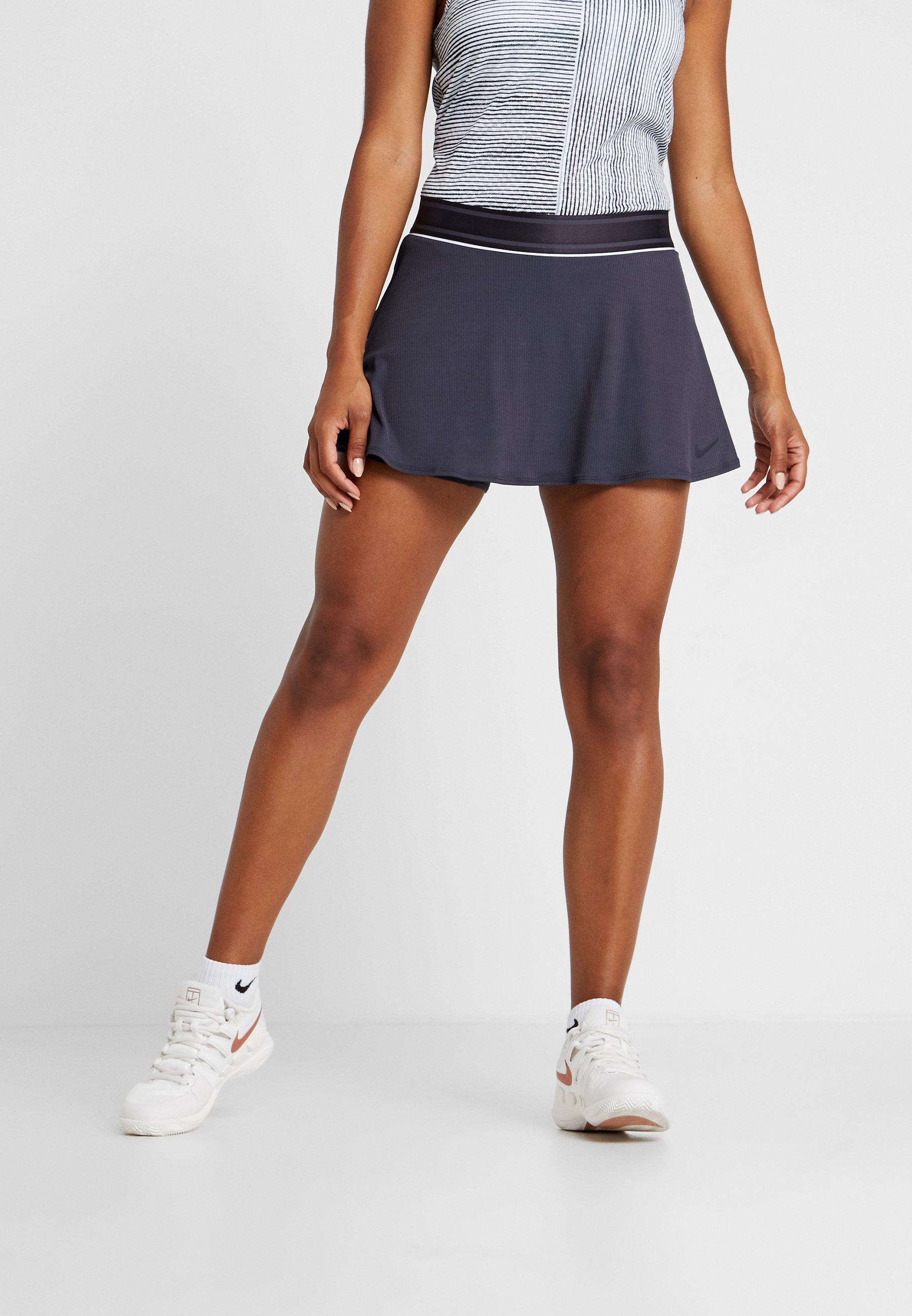 Nike Dry Iron white Performance SkirtJupe Grid De Sport 2IH9WDE