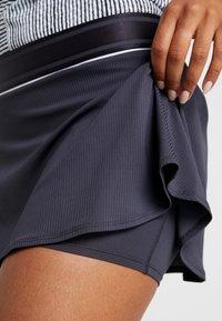Nike Performance - FLOUNCY SKIRT - Sports skirt - grid iron/white - 5