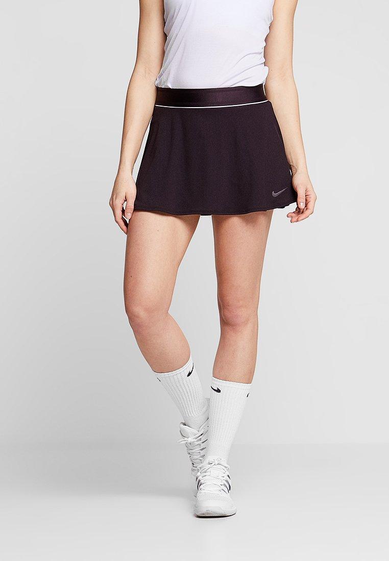 Nike Performance - DRY SKIRT - Sportrock - white/burgundy ash