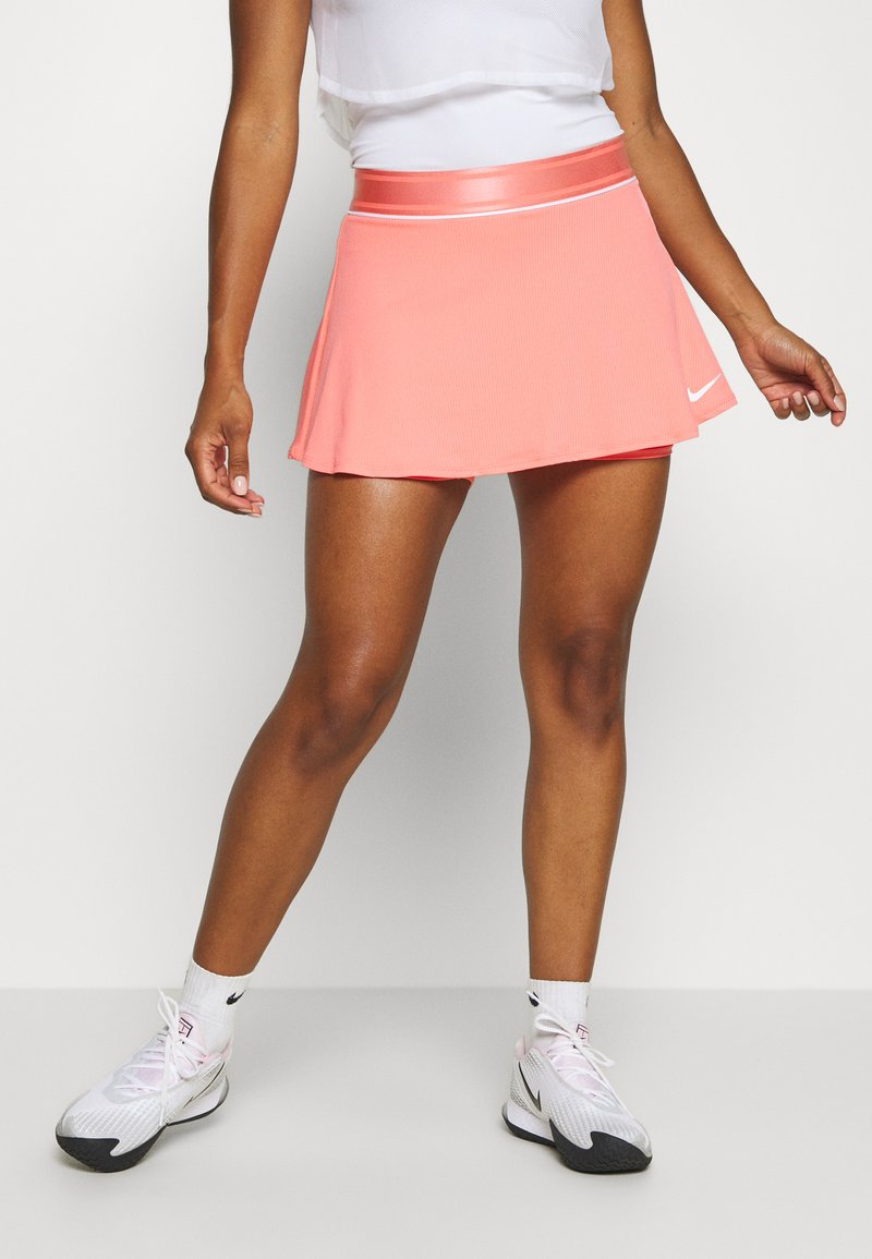 Nike Performance - FLOUNCY SKIRT - Sports skirt - sunblush/white