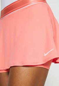 Nike Performance - FLOUNCY SKIRT - Sports skirt - sunblush/white - 4