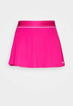 FLOUNCY SKIRT - Sports skirt - vivid pink/white