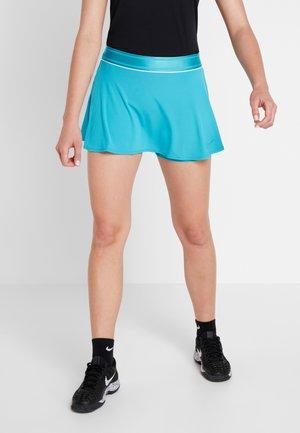 FLOUNCY SKIRT - Sports skirt - teal/white