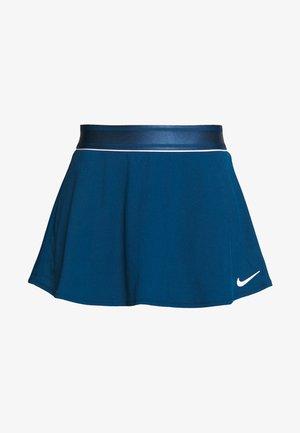 FLOUNCY SKIRT - Sports skirt - valerian blue/white