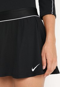 Nike Performance - FLOUNCY SKIRT - Sports skirt - black/white - 3