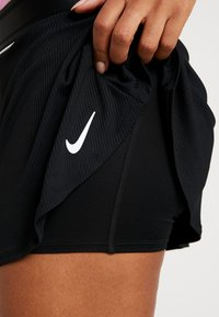 Nike Performance - FLOUNCY SKIRT - Sports skirt - black/white - 3