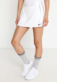 Nike Performance - DRY SKIRT - Sportkjol - white/black - 0