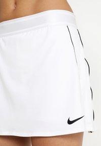 Nike Performance - DRY SKIRT - Sportkjol - white/black - 3