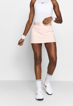 DRY SKIRT - Sports skirt - washed coral/white