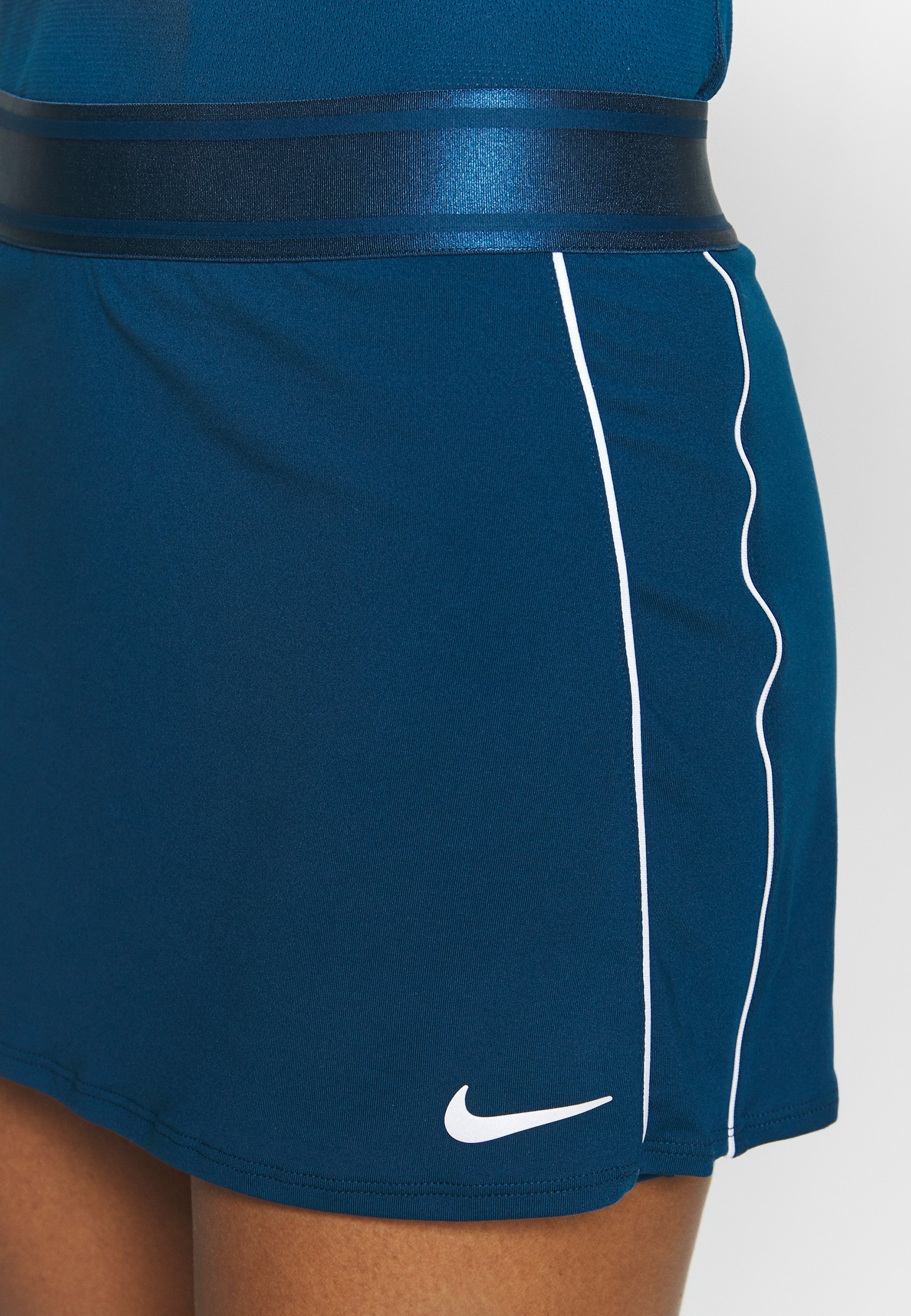Nike Performance Dry Skirt - Jupe De Sport Valerian Blue/white