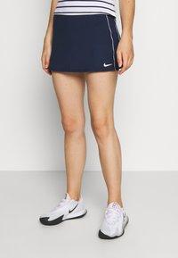 Nike Performance - DRY SKIRT - Sportovní sukně - college navy/white - 0