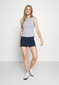 Nike Performance - DRY SKIRT - Sportovní sukně - college navy/white - 1