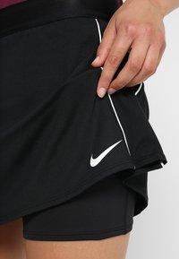 Nike Performance - DRY SKIRT - Falda de deporte - black/white - 4