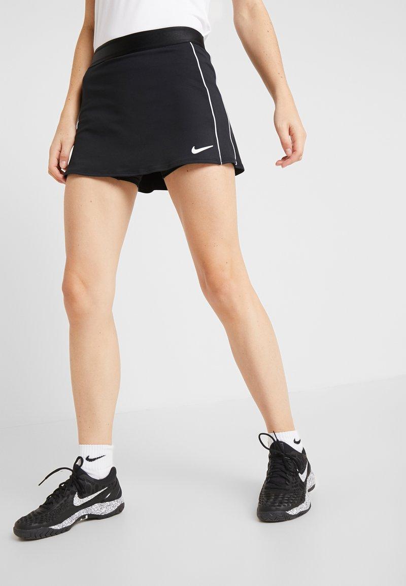 Nike Performance - DRY SKIRT - Spódnica sportowa - black/white