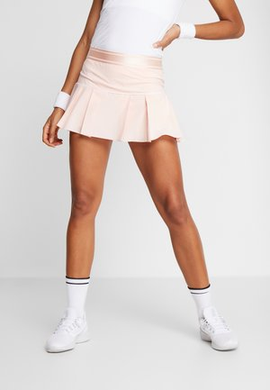 W NKCT VICTORY SKIRT - Sports skirt - washed coral/white