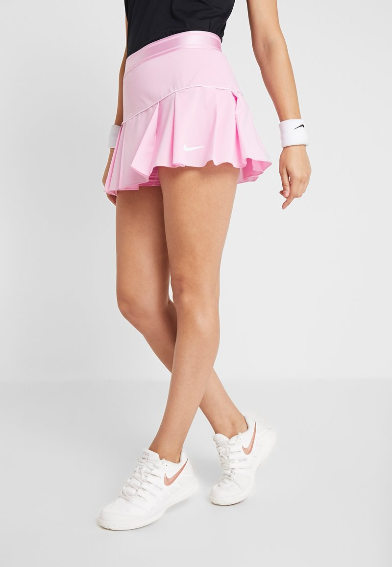 Nike Performance - VICTORY SKIRT - Sports skirt - pink rise/white
