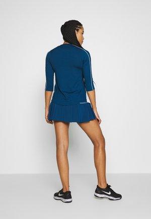 VICTORY SKIRT - Sports skirt - valerian blue/white