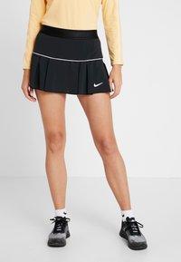 Nike Performance - VICTORY SKIRT - Sportovní sukně - black/white - 0