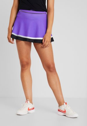 SLAM SKIRT - Sports skirt - psychic purple/black/white/volt