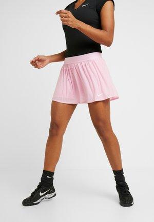 MARIA SKIRT - Sportkjol - pink rise/white