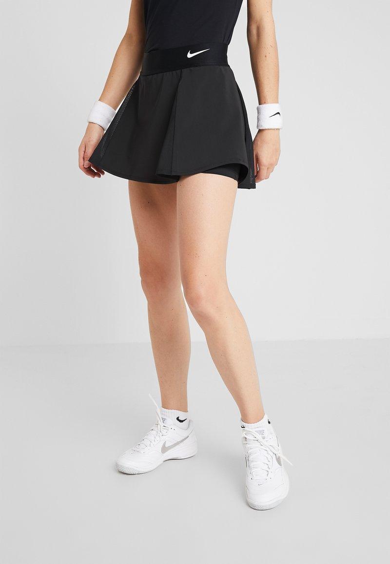 Nike Performance - FLOUNCY SKIRT - Sportovní sukně - black/white