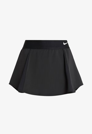 FLOUNCY SKIRT - Sports skirt - black/white