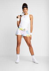 Nike Performance - WRAP SKIRT - Sports skirt - white/black - 1