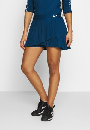 VICTORY SKIRT - Sports skirt - valerian blue/white