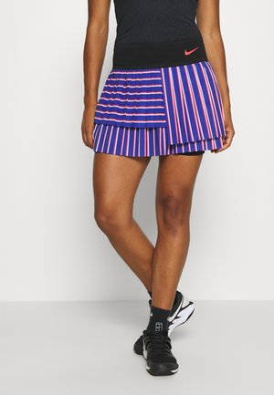 Sports skirt - deep night/black/white/laser crimson