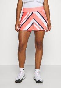 Nike Performance - FLOUNCY SKIRT PRINTED - Rokken - sunblush/white - 0
