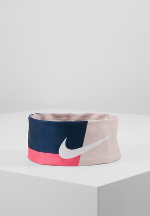 FURY HEADBAND - Ear warmers - valerian blue/barely rose/white