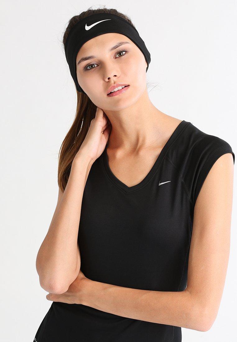 Nike Performance - FURY HEADBAND - Ear warmers - black/white