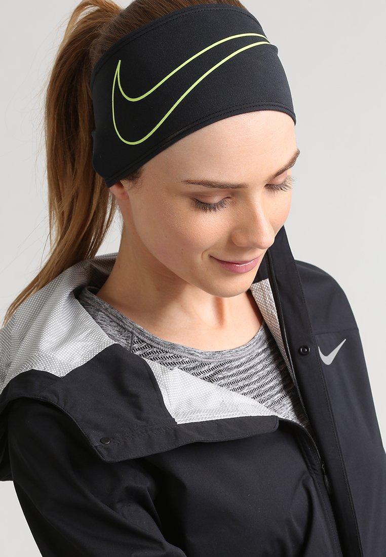 Nike Performance - SWOOSH  - Čelenka - black/volt