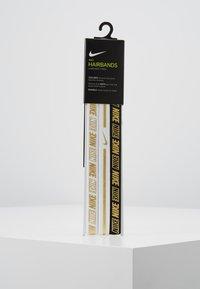 Nike Performance - HAIRBANDS 3 PACK - Andet - white/black - 3