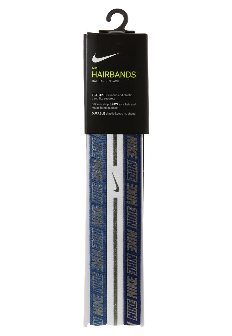 Nike Performance - HAIRBANDS 3 PACK - Varios accesorios - mystic navy/white/blue void