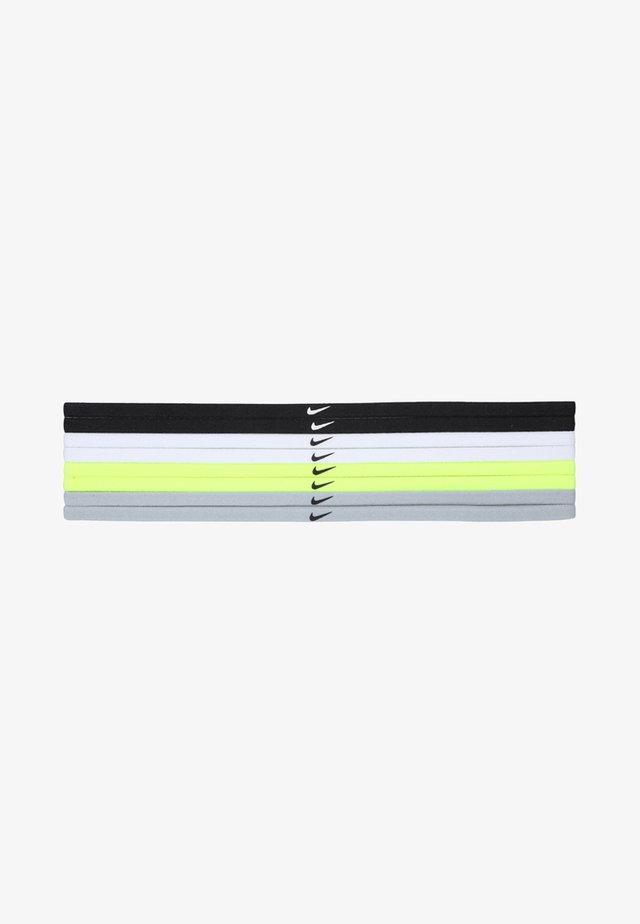 SKINNY HAIRBANDS 8 PACK - Varios accesorios - black/white