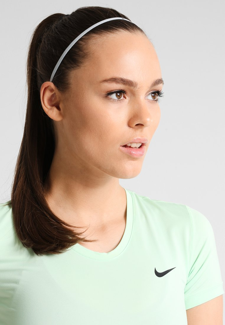 Nike Performance - SKINNY HAIRBANDS 8 PACK - Jiné - black/white