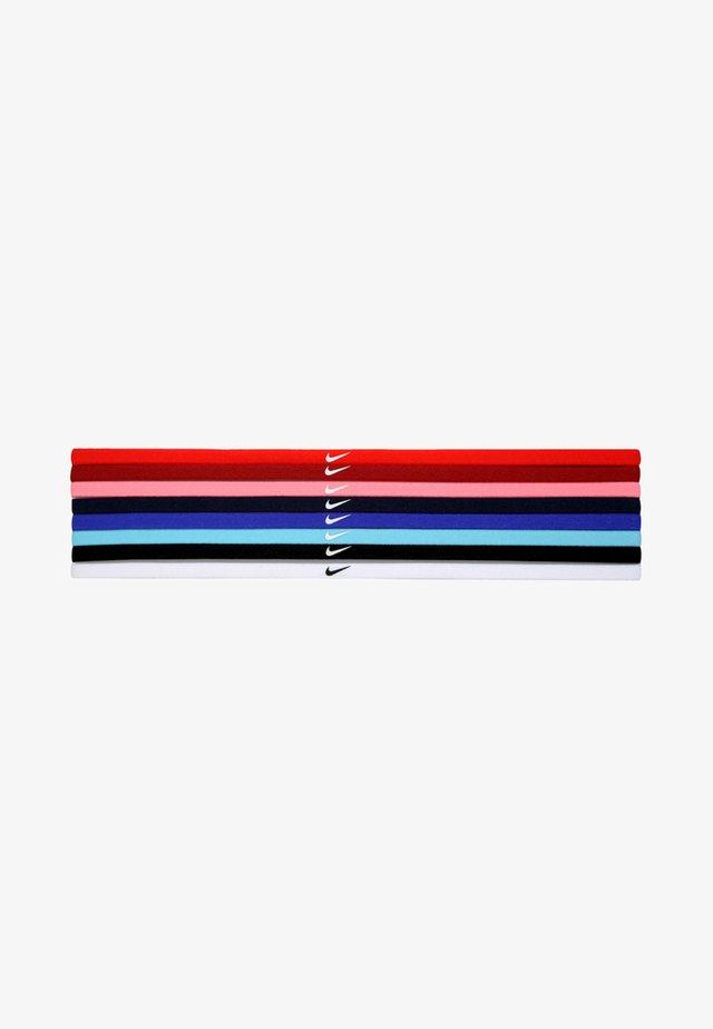 SKINNY HAIRBANDS 8 PACK - Accessoires - Overig - light crimson/dark cayenne/bright melon