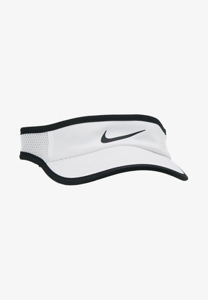 WOMEN AEROBILL FEATHERLIGHT VISOR ADJUSTABLE - Cap - white/black