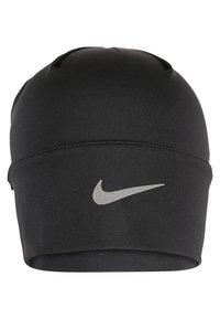 Nike Performance - WOMENS RUN DRY HAT AND GLOVE SET - Fingervantar - black/black/silver - 4