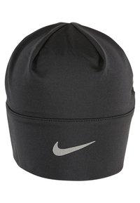 Nike Performance - WOMENS RUN DRY HAT AND GLOVE SET - Fingervantar - black/black/silver - 2