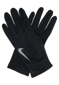 Nike Performance - WOMENS RUN DRY HEADBAND AND GLOVE SET - Cache-oreilles - black/anthracite/silver - 3